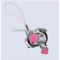 fashion mobile phone charm and cell phone straps manufacturer