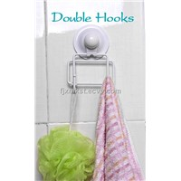 multifunctional hooks with vacuum cup