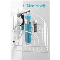 No Drilling Required Vacuum Wall Shelf