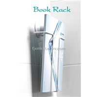 promotional book rack with suction cup