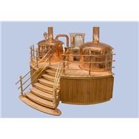 red copper luxury beer equipment