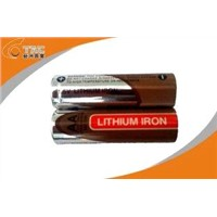 1.5V AA 2900mAh Primary Lithium Battery with High Capacity
