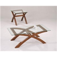 Elegant Glass Coffee table#9675C
