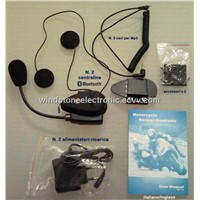 500m intercom helmet headset for motorcycle/ bluetooth helmet headset