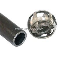 Seamless steel tube for automobiles