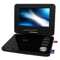 3D FUNCTION! 7'' Portable DVD player  cheap price good quolity TV DVD USB SD GMAE CD DIVX CARD MP3