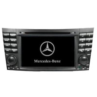 Benz e class car dvd player with gps navigation system (Enco-B105)