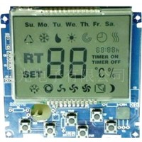 Central Air Conditioning Controller LCD Module