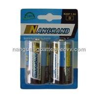 D Carbon Zinc Battery