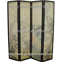 Digital Printing for Folding Screen