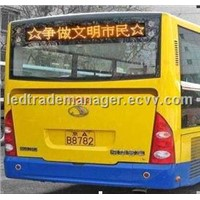 GPS Wireless Bus led Car-screen