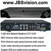 H.264 4/8CH Network Realtime CCTV DVR