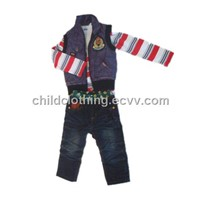 Kids clothing suit
