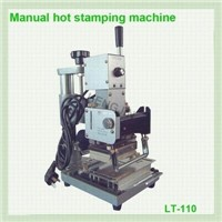 HH-110S manual hot stamping machine for silver or gold color