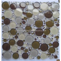 Moonlight glass mosaic