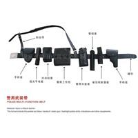 Multi-functional belt for police