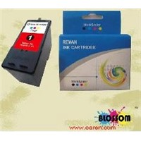 ink cartridge for Lexmark#1 18C0781 reman inkjet cartridges US$5.30 for refillable Ink Cartridge
