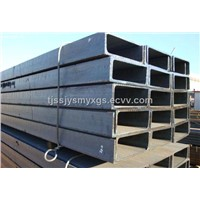 supply SS 400 carbon steel channel