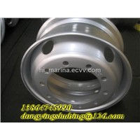 supply TS 22.5*9.75 truck wheel rim mounting 13R22.5tyre