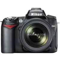D90 12.3 Megapixel Digital SLR Camera Kit with AF-S DX  18-105mm f/3.5-5.6G ED VR Lens