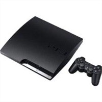 Slim Game Console - Charcoal Black