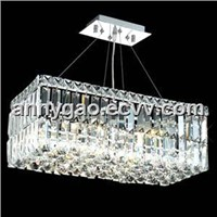 4 Light Contemporary Crystal Chandelier