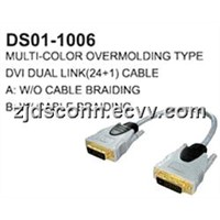 DVI to DVI Cable Multi-Color