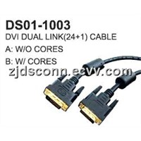 DVI to DVI (Dual Link 24+1) Cable