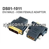 HDMI F to DVI M