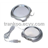 USB Cup Warmer with 4x USB1.1 HUB,USB Hub Warmer
