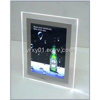 crystal LED lightbox