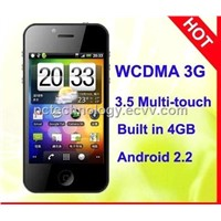 3.5 inch Capacitive Android2.2 PC168 GPS WiFi Built-in 3G mobile phone