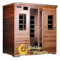 4 Person Red Cedar Infrared Sauna--- G4(Cedar)