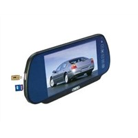 7 Inch Rearview Mirror Monitor USB SD