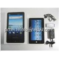 7 inch Tablet PC with google android2.0 Camera/ Ethernet lan/Wi-Fi/3G