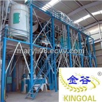 8-200tons/day corn flour processing equipment