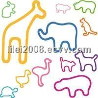 Animal Shaped Rubber Bands,Personalized Rubber Bands