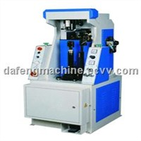 Backpart flattening machine