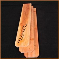 Chinese cedar fence pickets