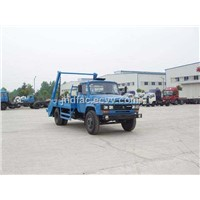 Dongfeng 140 Arm Swing Garbage Truck
