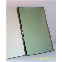 French green reflective float glass