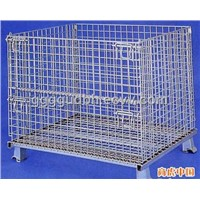 Galvanized Collapsible Steel Storage Cage