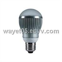High power 6W LED bulb