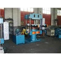 Manual push-pull mode hydraulic press
