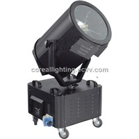 Moving head searchlight