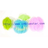 PE soft mesh bath ball bath puff