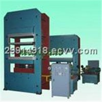 Plate vulcanizer with big size