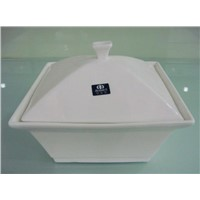 Porcelain Tureen with Lid