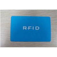 RFID paper card