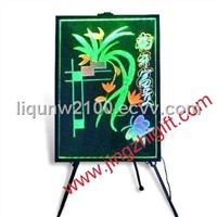 Remote control RGB led sign board,led promotion board